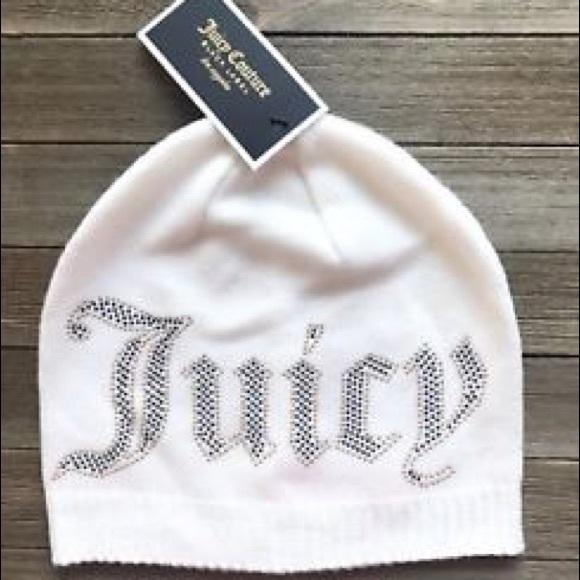 Juicy Couture Jersey Knit Beanie w  Heat Set Studs 4fb0dc65825